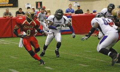 Charlottes Professional Indoor Football Team - Carolina Speed