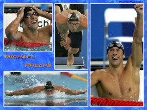 Michael Phelps Makes Official Return In Charlotte