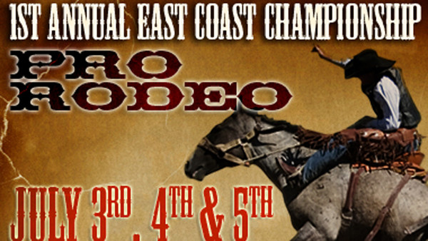 1st Annual East Coast Championship Pro Rodeo