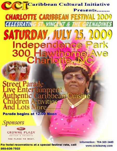 2009 Charlotte Caribbean Festival July 25th