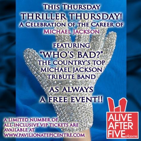 MJ Celebration @ Alive After Five