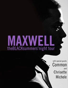 Maxwell BLACKsummers'night Tour Oct. 6th