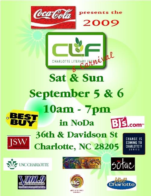 2009 Charlotte Literary Festival Sept 5th & 6th