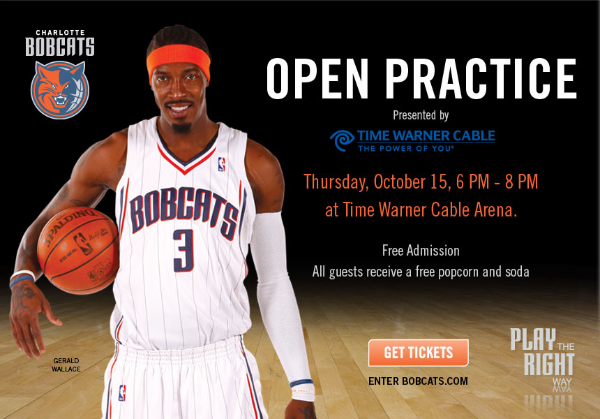 Charlotte Bobcats Open Practice Oct 15th