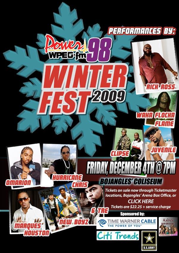 Power 98 Presents Winterfest '09 Dec 4th