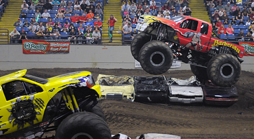 Monster Truck Freestyle Nationals Jan 1st-3rd