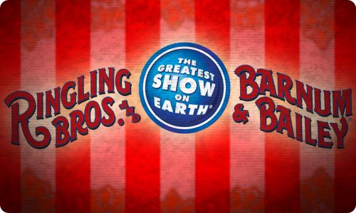 Ringling Bros B&B Circus Jan 27-31