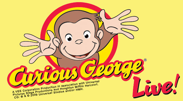 Curious George Live March 12th -14th