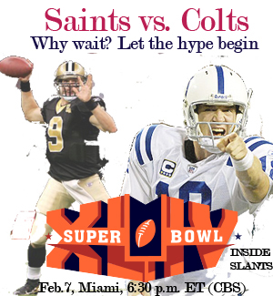 2010 Super Bowl Viewing Parties
