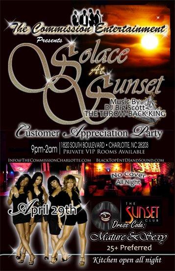 2010 Solace at Sunset Thurs, April 29, 2010