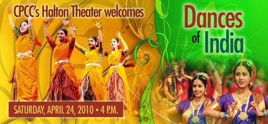 Dances of India April 30th