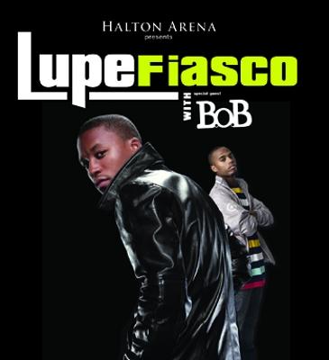 Lupe Fiasco & B.o.B. April 23rd
