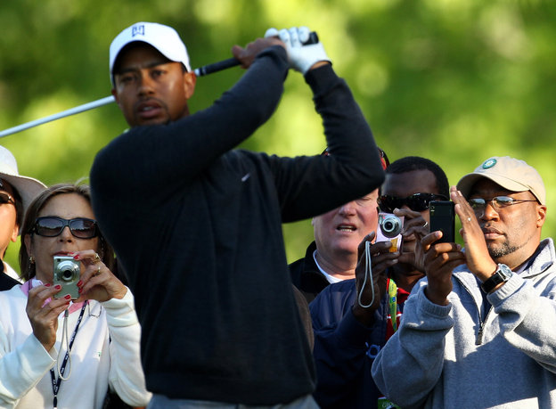 Tiger Woods: Golf's 'A lot more normal' in Charlotte