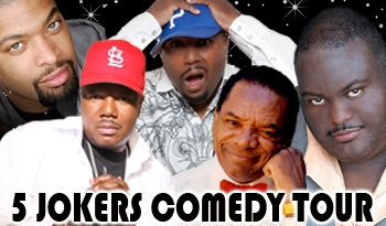 5 Jokers Comedy Tour June 19th