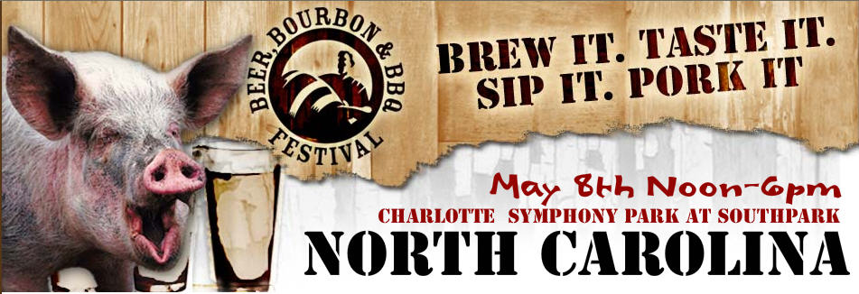 Beer, Bourbon & BBQ Festival May 8th