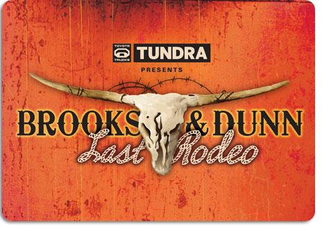 Brooks & Dunn Last Rodeo Tour June 4th