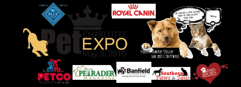 Charlotte Pet Expo May 8th @ Cabarrus Arena