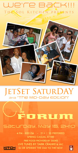 JetSet SaturDAY – The Mid-Day Edition May 15th