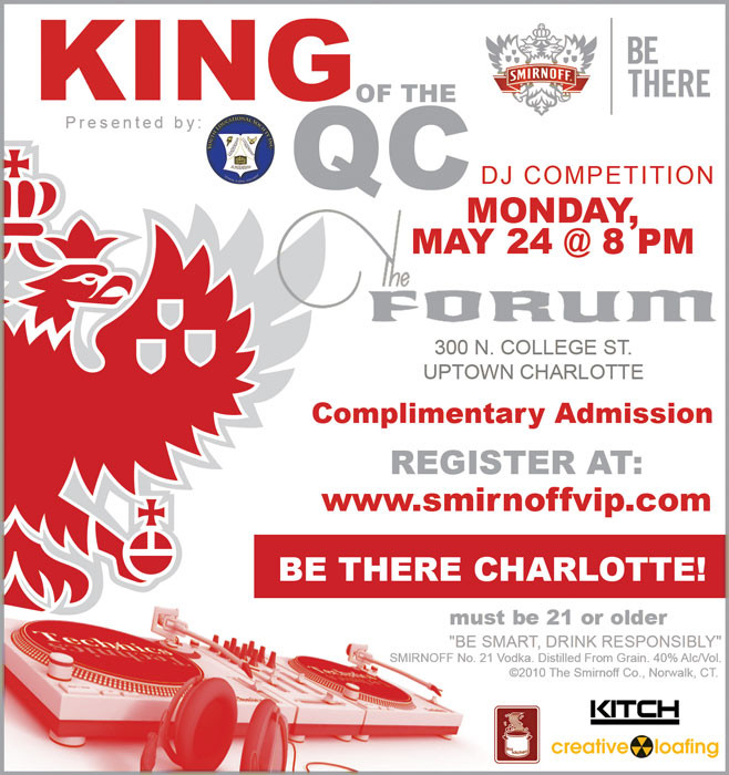 King of the QC DJ Competition May 24th