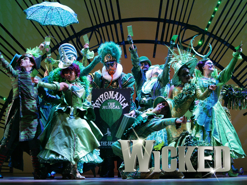 Wicked: The Musical May 19 – June 13