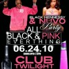 Hennessy Black & Nuvo Pink (All Black & Pink Everything Party) June 24th