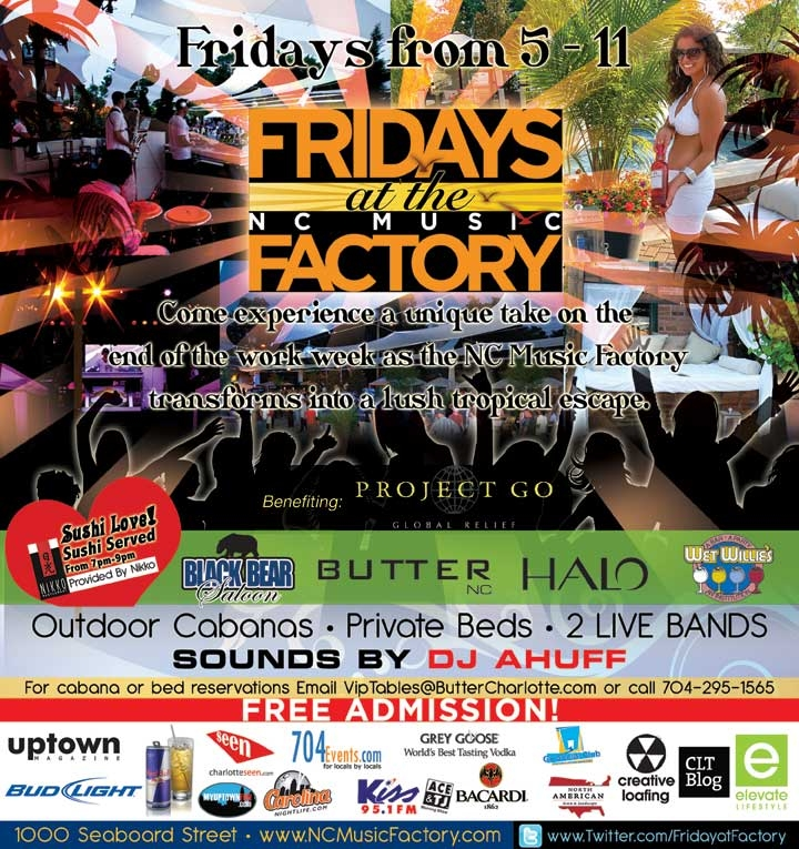 Friday LIVE! At The Factory