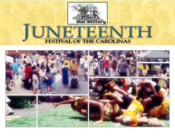 2011 Juneteenth Festival June 16th – 19th