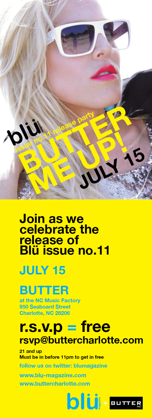 Blu Magazine Issue Party July 15th