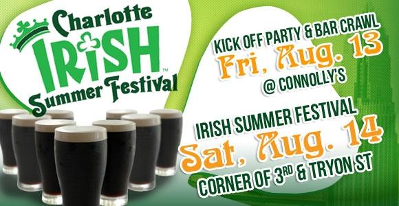 Charlotte Irish Summer Festival August 14th