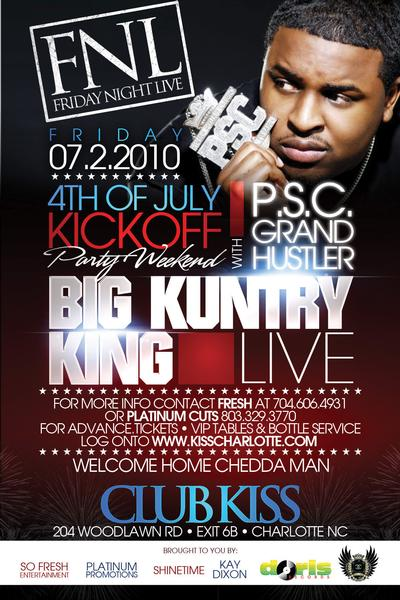 Grand Hustle / P.S.C. Takeover July 2nd