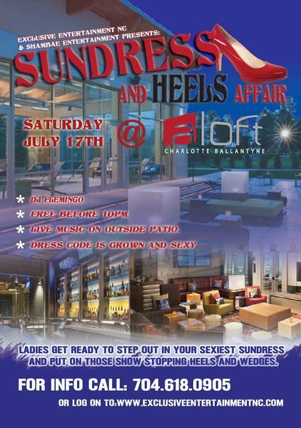 The SunDress & Heels Affair July 17th
