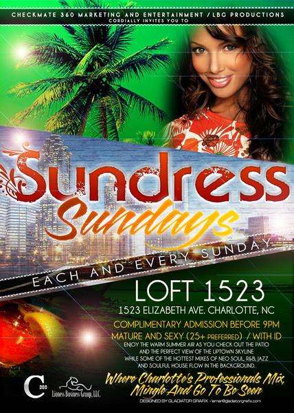 Sundress Sundays @ Loft 1523