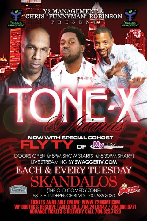 Tone X & Friends Comedy Show Every Tuesday