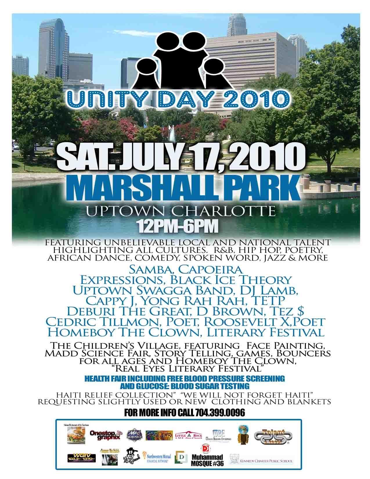 Unity Day 2010 – July 17th