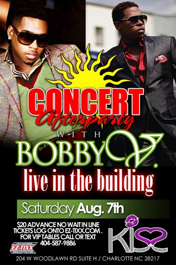 Bobby Valentino Concert Afterparty Aug 7th