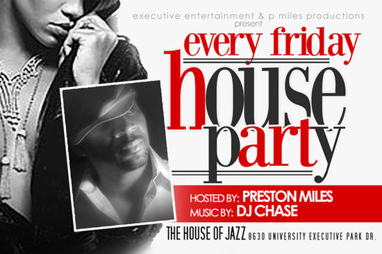 Friday Night House Party @ House Of Jazz