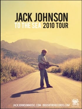 Jack Johnson To The Sea Tour August 22nd