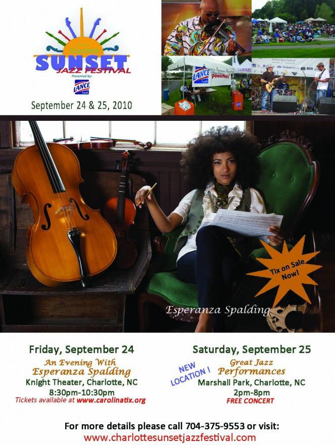 2010 Sunset Jazz Festival Sept 24th & 25th