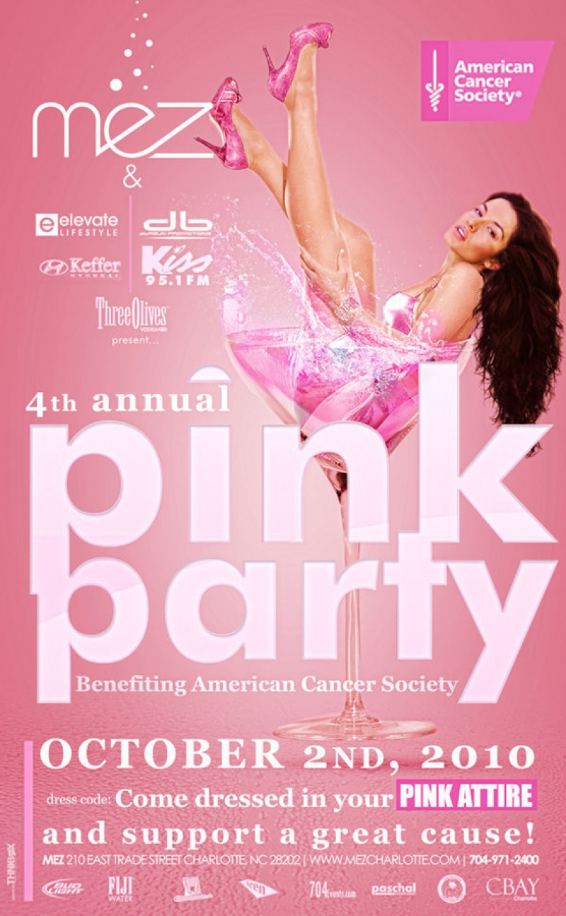 4th Annual Pink Party Oct 2nd