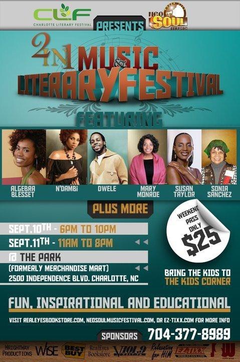 Charlotte Literary & Neo Soul Music Festival