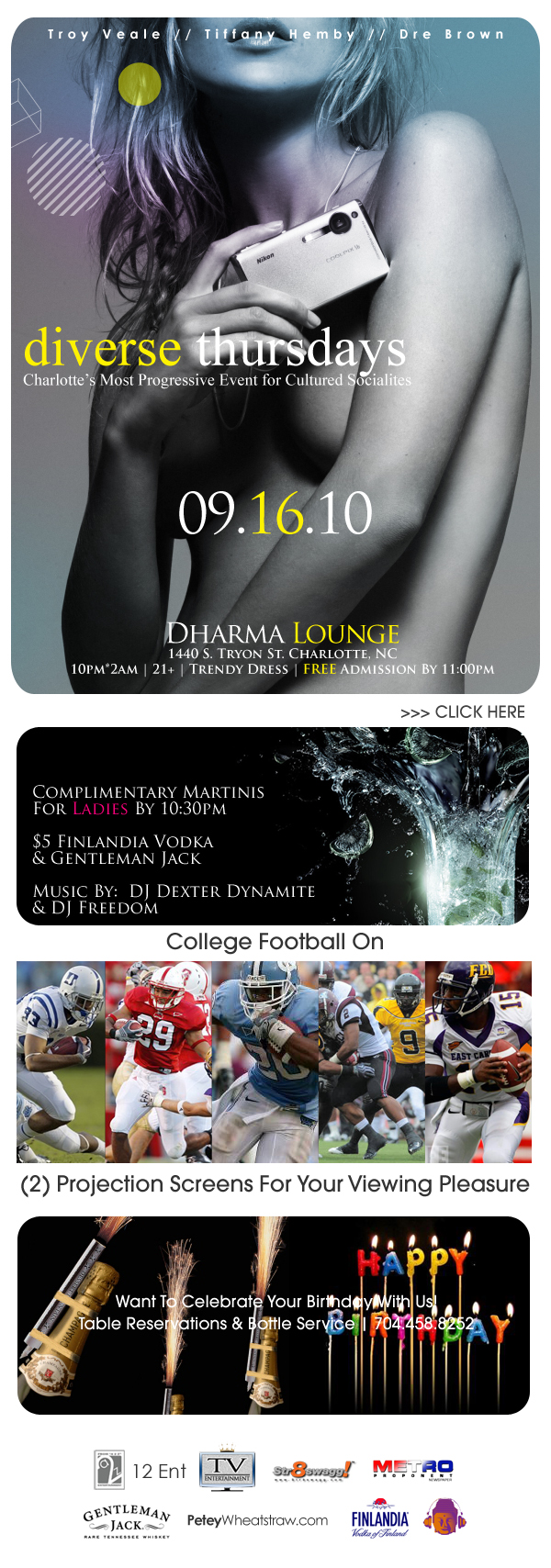 Diverse Thursdays @ Dharma Lounge