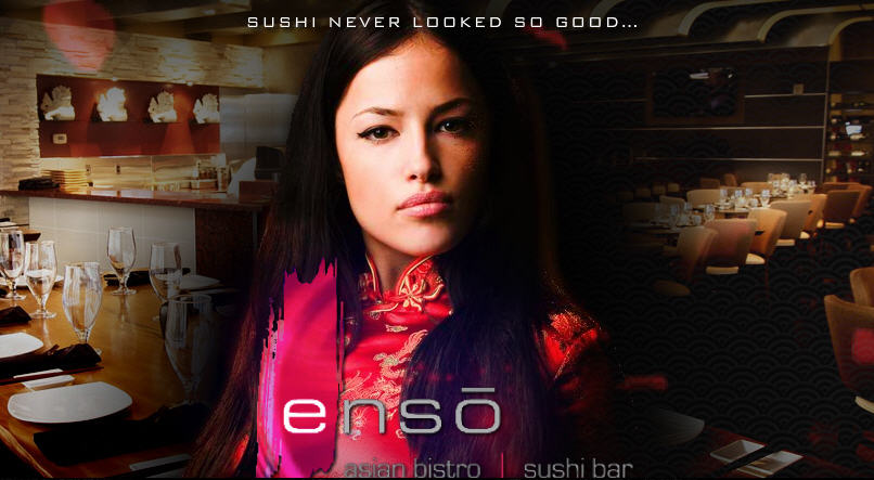 Happy Hour @ Enso Asian Bistro & Sushi Bar