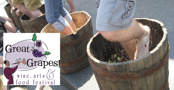 8th Annual Great Grapes Wine, Arts, & Food Festival