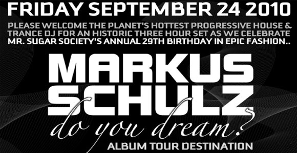 Markus Schulz at The Forum Friday Sept 24th