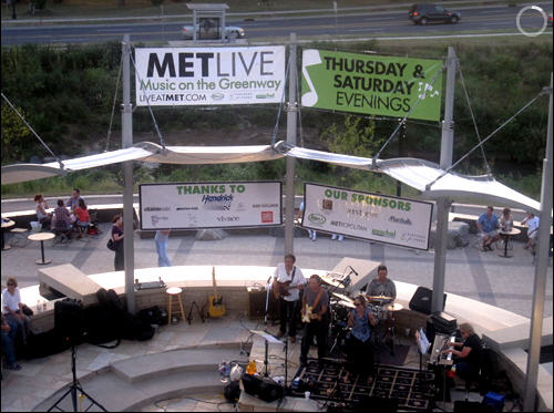 METLive Music on the Greenway