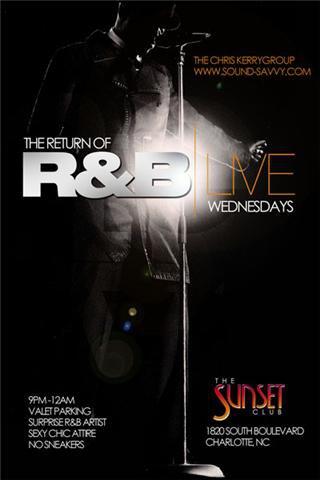 R&B Live Thursdays