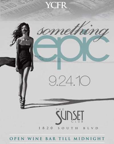 Something Epic @ The Sunset Club Fri, Sept 24th