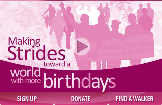 Making Strides Against Breast Cancer Sat Sept 25th