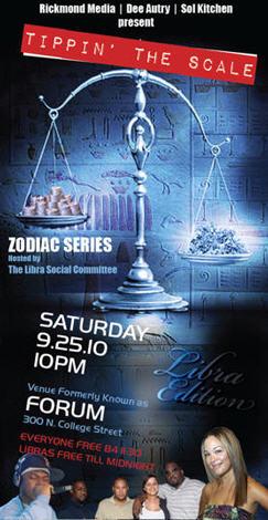 Zodiac Series – Libra Edition – Sept 25th