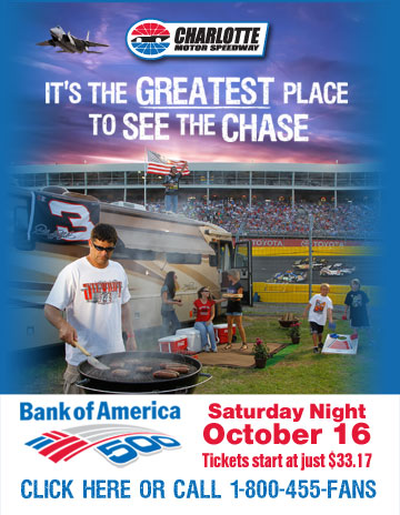 2010 Bank of America 500 Oct 16th
